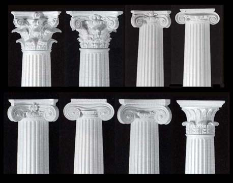 Contract builders supply columns Crown columns